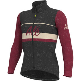 Alé Cycling Classic Storica Jacket Men black/masai red